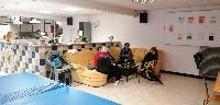 NIMES un petit café au club house