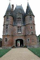 photo de la sortie Château de Carrouges en moto